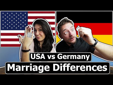Marriage Differences (Germany & USA)