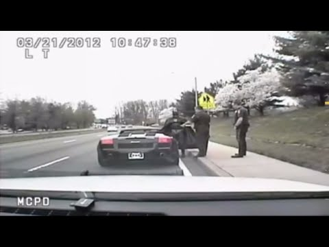 associated press - Police near Washington, D.C. pulled over a man dressed as Batman. He was driving a Lamborghini Batmobile. (March 30th) Subscribe to the Associated Press: htt...