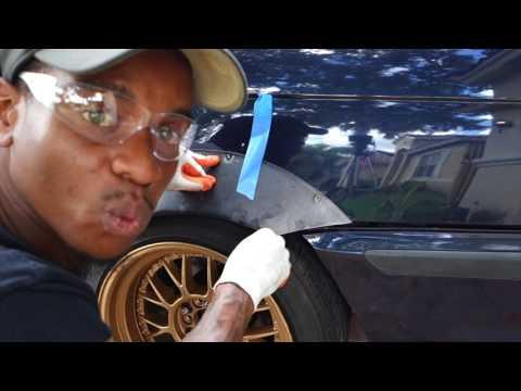BMW E46 gets fender flares!
