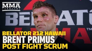 Bellator 212: Brent Primus Says Michael Chandler 'Didn't Want Any of My Standup' - MMA Fighting by MMA Fighting