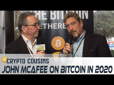 Interview With John McAfee | 2018 Bitcoin Ethereum Blockchain Super Conference (видео)