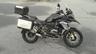 6. 2016 BMW R1200GS Triple Black  - walkaround