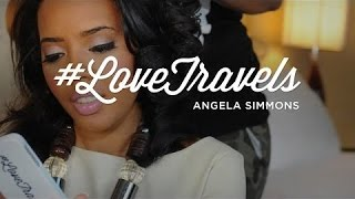 LoveTravels With Angela Simmons: New Fashion Line - YouTube