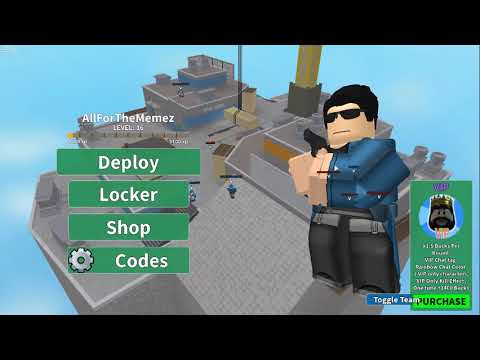 Buying The Starter Pack In Arsenal | Roblox