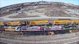 Download Video G.E. Transportation, train locomotive factory, Erie, PA  350 QX3 ap drone video 3-29-15 MP3 3GP MP4