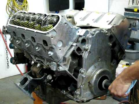 Top Gear Motorsports Rebuilt LSx Motor
