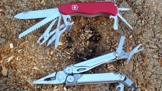The great debate lives on! Swiss Army vs Leatherman, what one is better? In this video Jeff takes a close look at two very popular multi tools and compares both ...