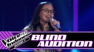Video Zilah - Untuk Perempuan Yang ...   Blind Auditions   The Voice Kids Indonesia Season 3 GTV 2018 MP3, 3GP, MP4, WEBM, AVI, FLV Desember 2018