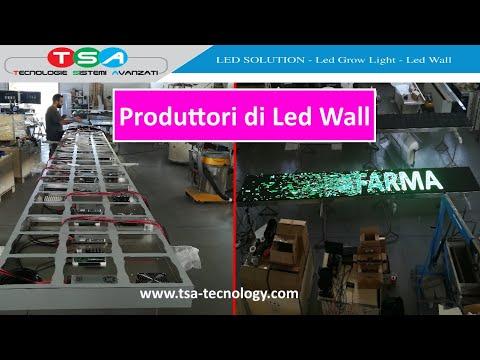 T.S.A. - Chi siamo e come produciamo i Led Wall e Maxischermi led in Italia e San Marino