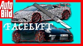 Lamborghini Aventador und Porsche 911 GT3 Facelift - AUTO BILD Quick Shot by Auto Bild
