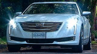The Cadillac CT6 is the flagship sedan from this iconic brand. The CT6 is available in Canada with a 3.6L V6 or 3.0L twin turbo called 3.0TT. All cars in Canada come with standard AWD but the CT6 full size sedan is available with magnetic ride control and active rear steering. The 3.0TT has the ability to switch off two cylinders for better fuel economy. Inside is a rolling showcase. The CT6 can be ordered with heated and cooled seats in the front and back, plus massaging front and rear seats and the rear seats can even recline. The CT6 has a rear-view mirror that turns into a wide angle screen to go along with the centre screen and digital dashboard.Competitors to the Cadillac CT6 include the Jaguar XF, the Audi A7,  Tesla Model S, Mercedes E-Class, Mercedes S-Class, Mercedes GLE, Mercedes, Mercedes GL, Mercedes G, BMW 5 Series, BMW 7 Series, BMW 6 Series, BMW X5, BMW i8, BMW i3, Audi A6, Audi A7, Audi A8, Audi Q5, Audi Q6, Audi Q7, Audi E-tron, Audi electric SUV, Volvo XC60, Volvo XC90, Lexus LS450h, Lexus GS, Lexus LX, Infiniti Q70, Infiniti QX70, Acura RL, Acura RLX, Jaguar XF, Jaguar XJ, Jaguar F-Pace, Jaguar XE, Cadillac CTS, Cadillac ELR, cadillac CT6, Genesis, Aston Martin, Porsche Panamera, Lincoln MKS, Lincoln MKC, Lincoln MKZ, Land Rover Discovery Sport, Land Rover Discovery, Range Rover Sport, Range Rover, Twitter: https://twitter.com/MotormouthCDNFacebook: http://tinyurl.com/motormouthfbMotormouth: http://www.motormouth.ca/Subscribe: http://tinyurl.com/motormouthsubscribeZack SpencerZach SpencerCanadian Car ReviewMotormouth Canada