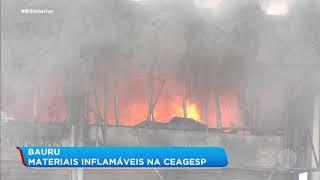 Materiais inflamáveis podem ter contribuído para incêndio