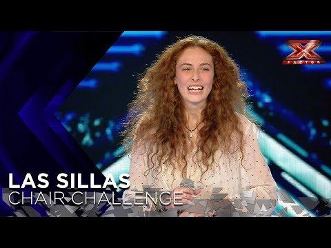 Es francesa, pero no se le resiste el espanol: Poupie arrasa con Havana | Sillas 1 | Factor X 2018_TV műsorok. Heti legjobbak