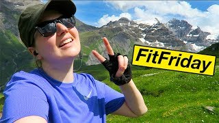 In today's #FitFriday episode I take you with me to the most stunning but also strenuous hike in the Swiss Alps. This is the longest hike I've done yet, but the ...