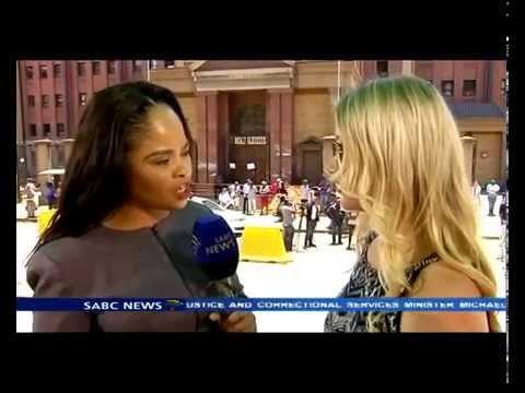 Oscar Pistorius ex girlfriend speaks out