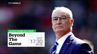 Leicester-Fans bedanken sich bei Claudio Ranieri