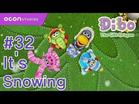 dibo - [OCON] Dibo the Gift Dragon _Ep32 It's Snowing( Eng dub) ************************************************************************************* All rights res...