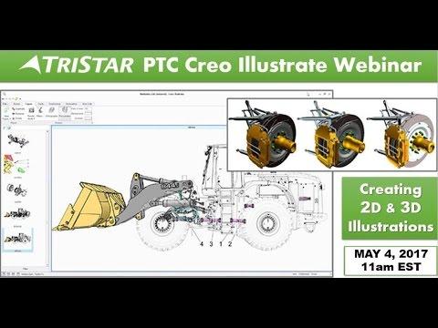 TriStar Webinar Replay: PTC Creo Illustrate Creating 2D & 3D Illustrations