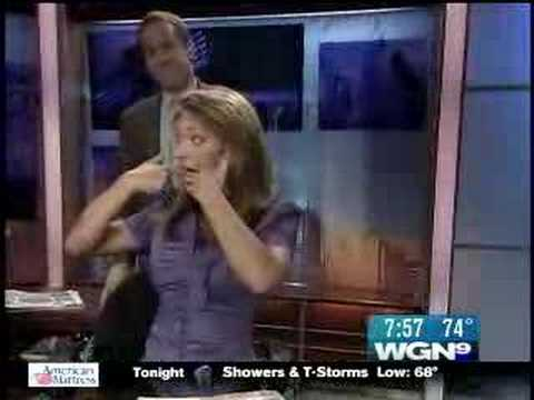 WGN Morning News kidnaps NBC5's Ginger Zee Video