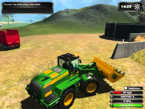 harvesting maize on ls11