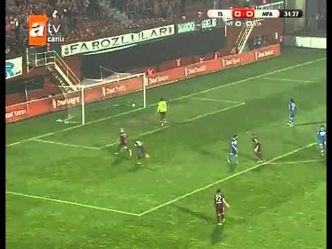 Sapara 'nın Antalyaspor 'a Attığı Harika Gol