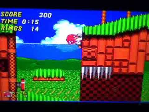 sonic and knuckles wii game