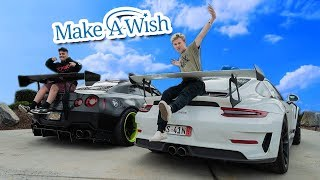 Video MOST INSPIRING MAKE-A-WISH I'VE EVER DONE! *STAY STRONG DAMIAN* MP3, 3GP, MP4, WEBM, AVI, FLV Agustus 2019