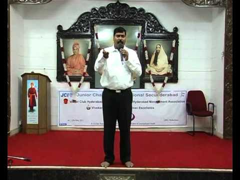 GOAL SETTING BY GAMPA NAGESHWER RAO at IMPACT 2011 RK MUTT HYD