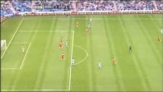 Claudio Reyna trifft für Manchester City gegen Portsmouth