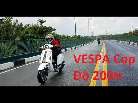 Vespa Sprint Trái 6X Malossi Độ 200 Triệu (Vlog 133) - Thời lượng: 25:43.