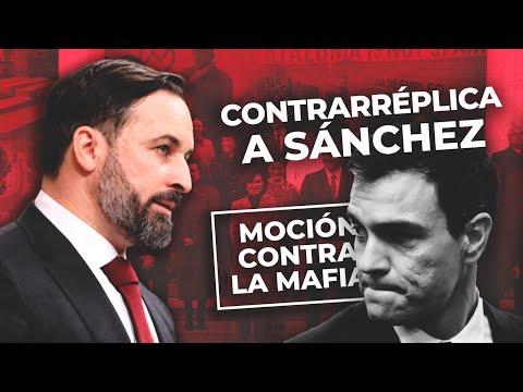 Sánchez dice que VOX odia España y Abascal responde: '¿Ha visto quién está sentado a su lado?'