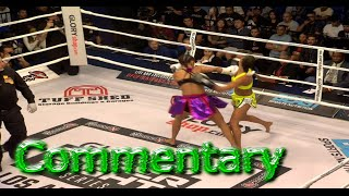 Kickboxing GLORY 30 Grand Prix Super Bantamweight Tournament Tiffany Van Soest vs Esma Hasshass Full Fight Commentary By Crazy Joe & Big Dog Jimmy of GLORY 3...