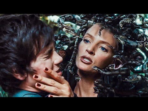 Medusa's Garden Scene - PERCY JACKSON & THE OLYMPIANS (2010) Movie Clip