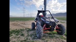 2. 2018 POLARIS RZR RS1 FIRST RIDE/THE POWER LINE ROAD