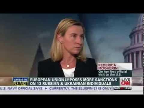 Crisi ucraina: il Ministro Mogherini ospite di Wolf Blitzer su CNN International