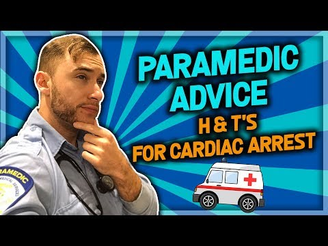 How To Pass ACLS: Paramedic H's & T's 2019 (BONUS TIPS!)