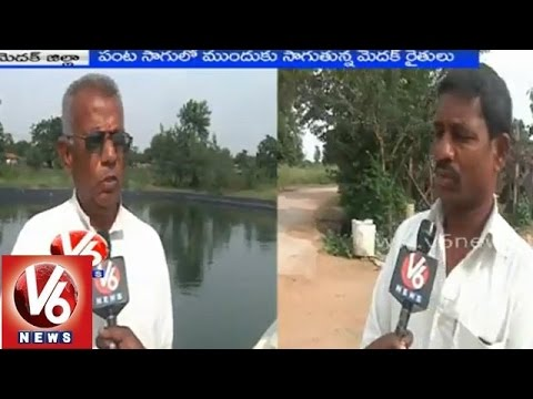 Medak district farmers introduced new techniques in crop cultivation