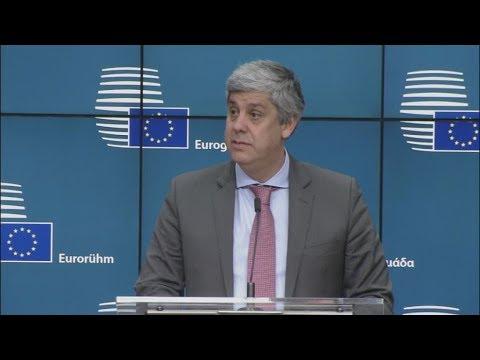 Συνέντευξη Τύπου μετά το πέρας της συνεδρίασης του Eurogroup