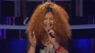Aalijah Tabatha Hahnemann - My Baby Left Me | The Voice of Germany 2013 | Blind Audition