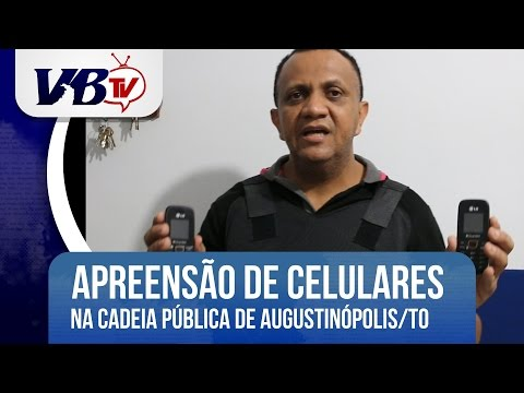 VBTv | Celulares s�o interceptados em revista no pres�dio de Augustin�polis