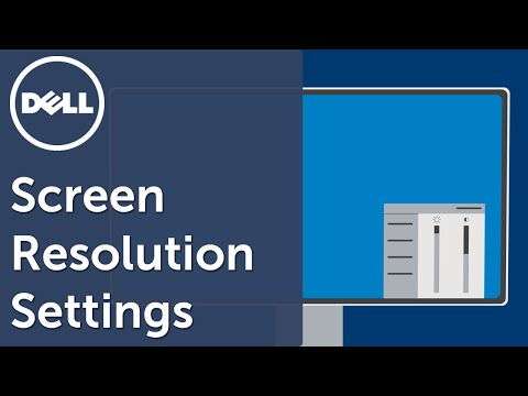Change Screen Resolution (Official Dell Tech Support)