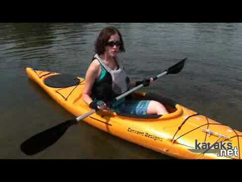 Current Designs Kestrel 120 Kayak Video Review