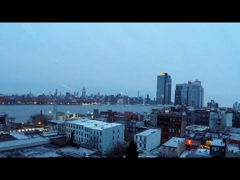 Moving to New York - House Hunting in the SNOW - VLOG #1