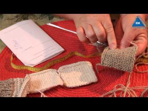 Видеоурок вязание носок