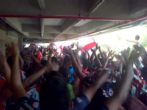 LA BANDA DEL TIBURON - Frente Rojiblanco Sur - Junior de Barranquilla