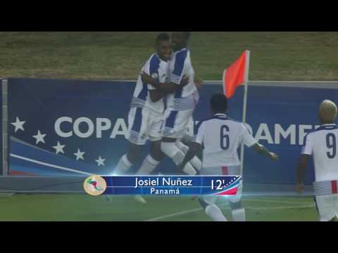 Панама - Никарагуа 2:1. Видеообзор матча 16.01.2017. Видео голов и опасных моментов игры