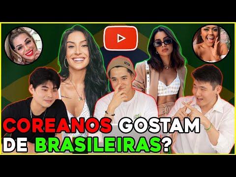 AS BRASILEIRAS SÃO BONITAS PARA OS COREANOS? | LEO HA