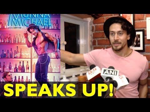 Tiger Shroff's Funny Reaction For His Movie Munna