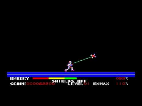 Thexder for the TRS-80 CoCo