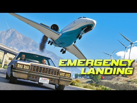 """Emergency Landing"" - GTA 5 Dramatic Short Film"